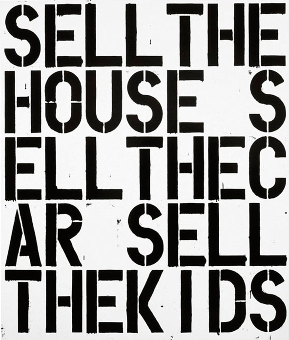 Sell the House, Sell the Car, Sell the Kids