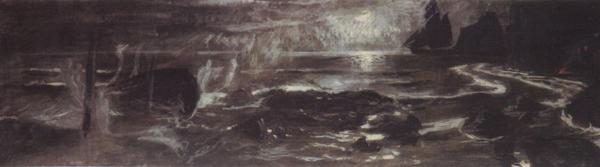 1896 Vision at sea