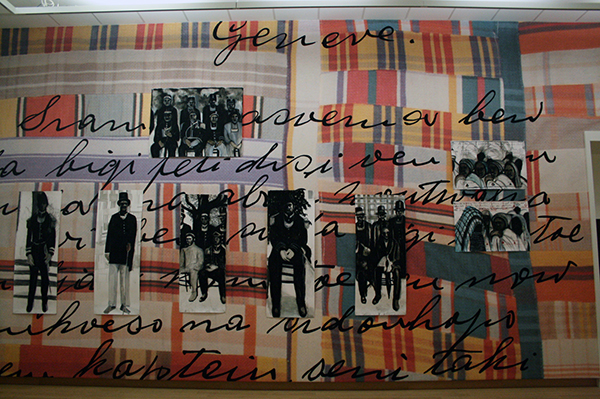 Iris Kensmil - Sidonhopo - Muurschildering en tekeningen, gemengde technieken