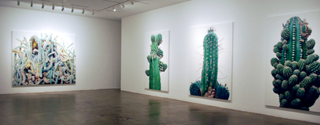 """Via ButDoesItFloat en die had het weer via Designboom de Koreaanse schilder Kwang-ho Lee (1967). Leuk feitje tussendoor, de galerie waar hij onlangs exposeerde heet """"Kukje"""". In elk geval, zijn […]"""