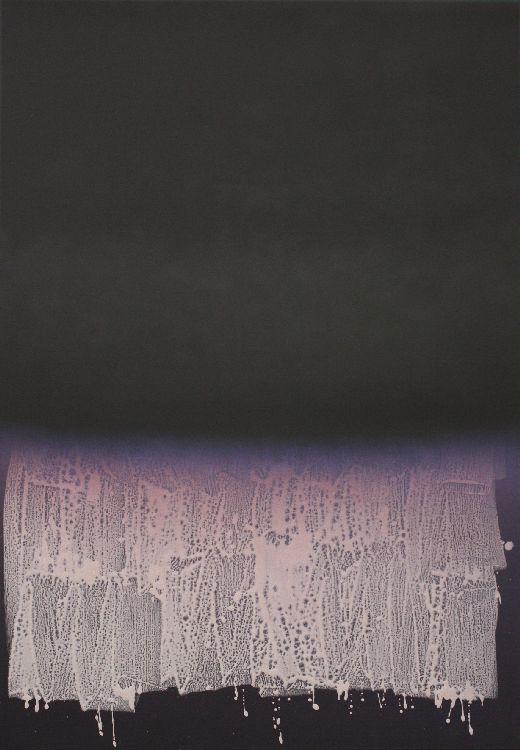 Untitled (2510c) - 172x119cm Acrylverf en polyurethane op canvas
