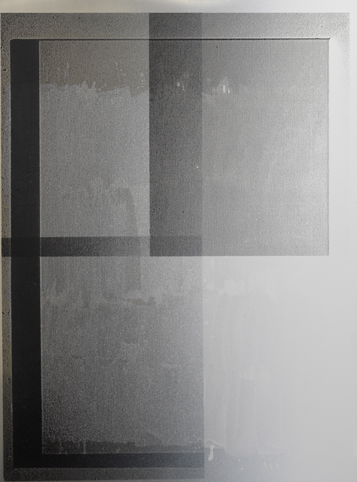 Untitled (2610A) - 197x145cm Acrylverf op aluminium