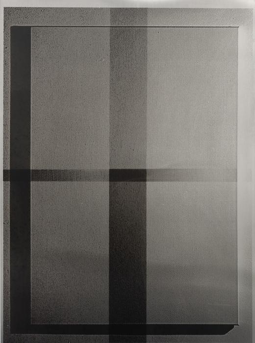 Untitled (2810A) - 197x145cm Acrylverf op aluminium