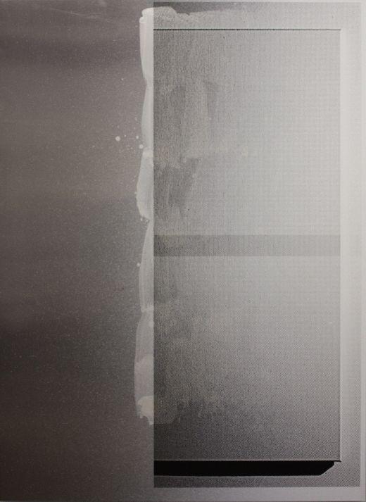 Untitled (2910A) - 197x145cm Acrylverf op aluminium
