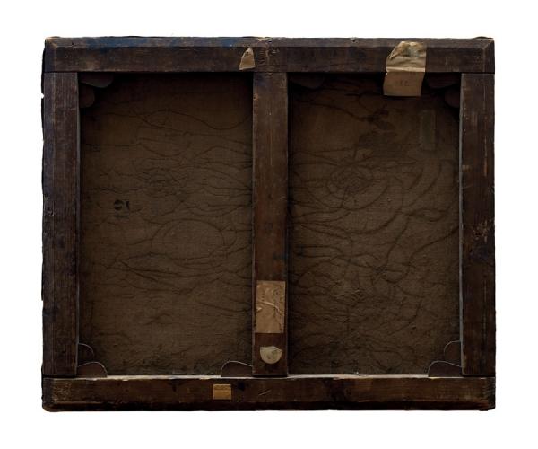 Verso - Ernest Rouard - La Victoria - 70x60cm