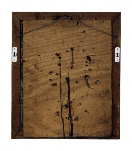 Verso - Niki de Saint Phalle - Old master, Séance galerie J - 132x112cm