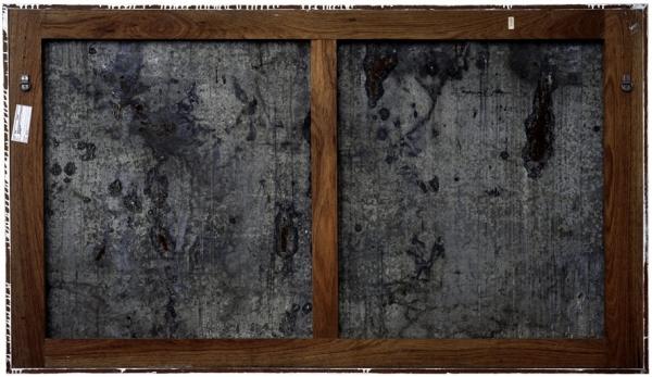 Verso - Raymond Hains - Zonder Titel - 112x190cm