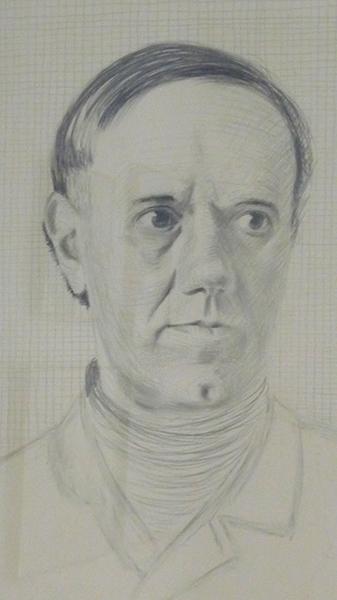 zelfportret van Raveel