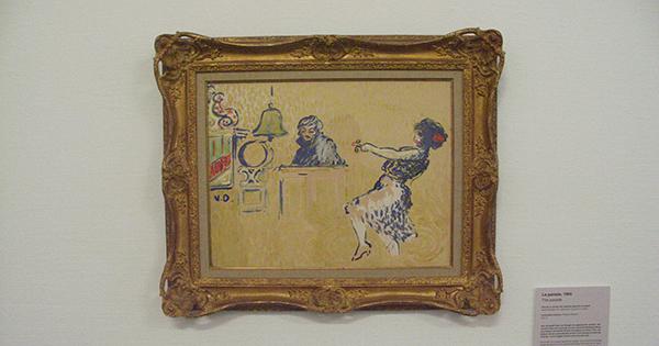 De Parade - Inkt, aquarel en gouache op papier