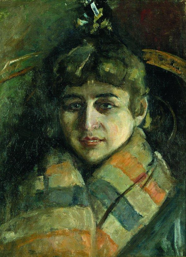 Edvard Munch, Charlotte Dørnberger, 1889