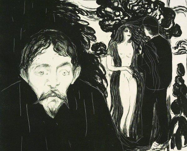 Edvard Munch, Jaloezie II, 1896
