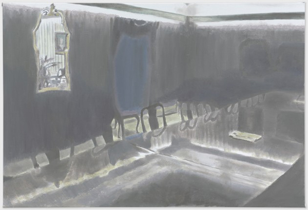 Conference Room - 99x147cm Olieverf op canvas