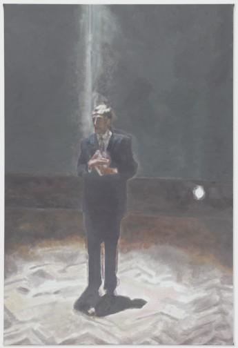 Speech - 206x138cm Olieverf op canvas