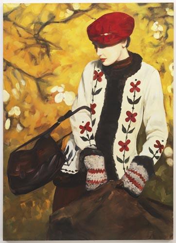 Cardigan Smrek - 195x140cm Olieverf op canvas