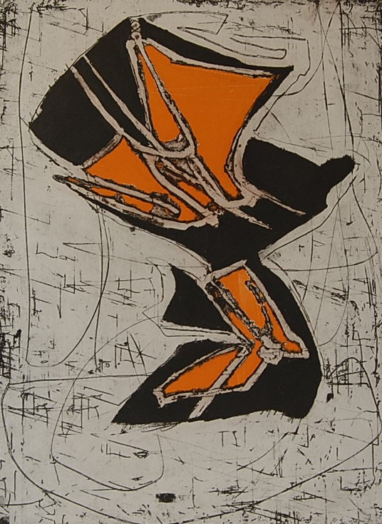 Cees Kortlang, Spring, 1993, 59,5 x 44 cm, ets