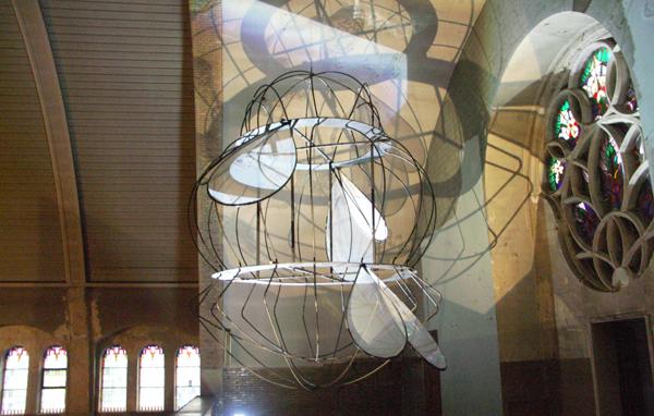 Esther Hoogendijk - Zonder Titel - Installatie van diverse materialen