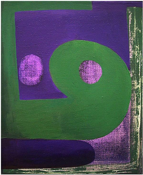 Zonder Titel - 40x50cm Olieverf op canvas