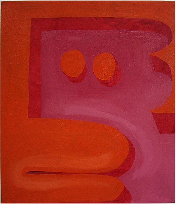 Zonder Titel - 70x60cm Olieverf op canvas