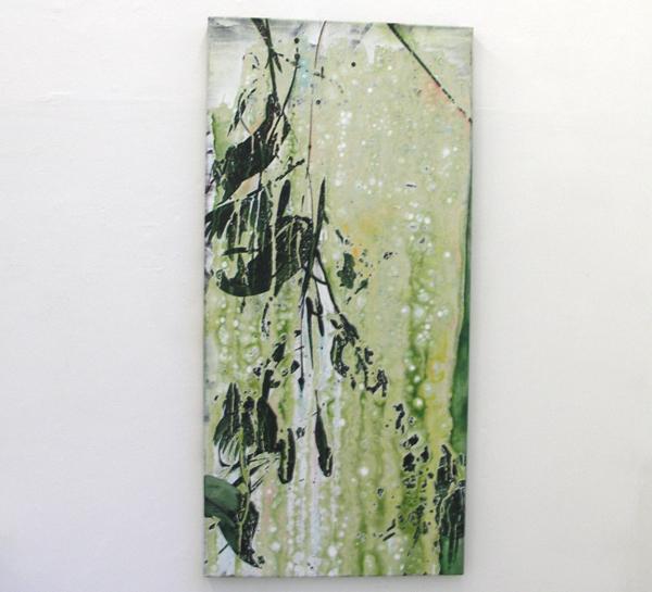 Danielle van Broekhoven - Cissus Antarctica - Acrylverf op doek