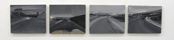 Har van der Put - Titel Onbekend - Acrylverf en pigment op doek