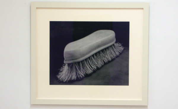 No title (scrub brush) - Inkt op papier