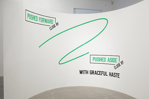 PUSHED FORWARD - CLOSE BY - PUSHED ASIDE - CLOSE BY - WITH GRACEFUL HASTE