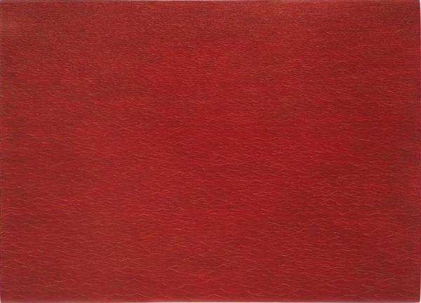 Untitled (Red Ocean #2) - 48x66inch Acrylverf op doek.jpg