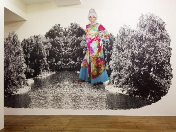 Untitled - Variabele afmetingen - Pigment print op Phototex