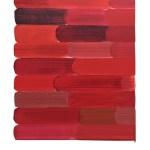 Work No 1115 - 30x25cm Acrylverf, enamel, inkt, olieverf en waterverf op canvas