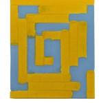 Work No 1151 - 30x25cm Acrylverf op canvas