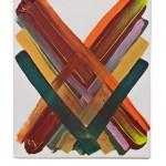 Work No 1161 - 30x25cm Acrylverf op canvas