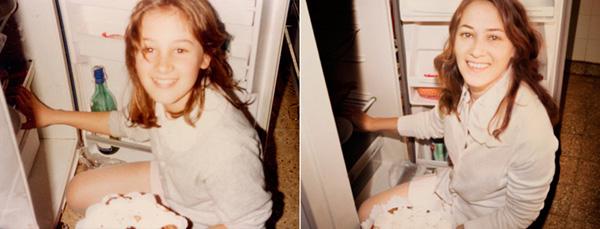Marina in 1988 en 2010