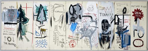 The Dutch Settlers - 183x549cm Acrylverf op canvas