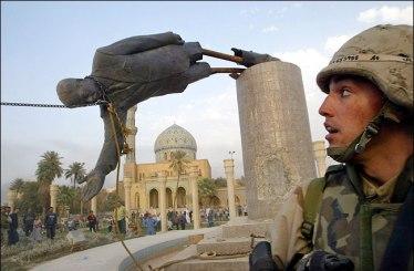 Saddam vernield (catagorie ongeliefde leiders)
