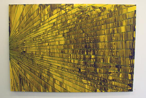 Structural Rules No.2 - 140x200cm Mixed Media op canvas