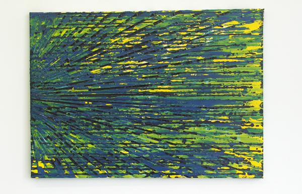 Structural Rules No.4 - 50x70cm Mixed Media op canvas