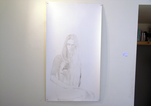 Anouk Griffioen - Sophie - 120x65cm Grafiet op papier