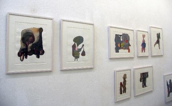 Carina Diepens - Zonder titel - Omstreeks 50x40cm Aquarellen op papier