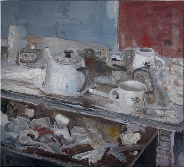 Still Life - 145x160cm Olieverf op canvas