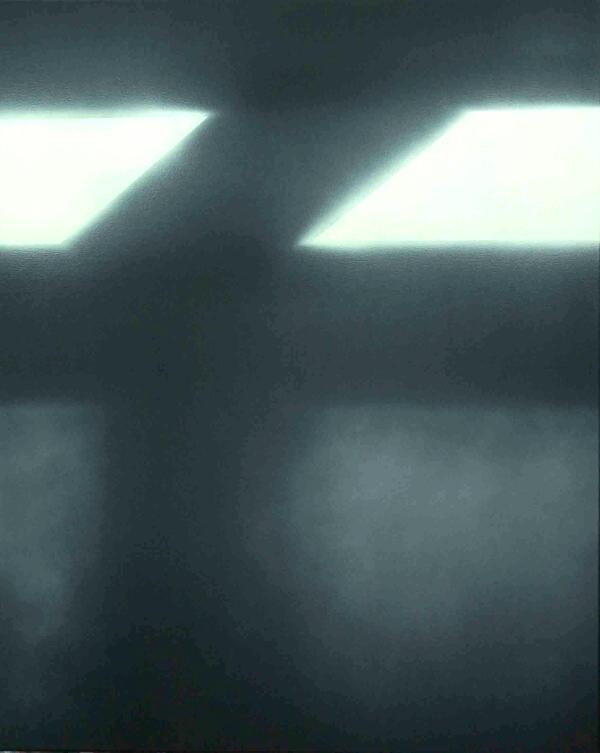 Paraphrase 1 - 120x120cm Olieverf op linnen