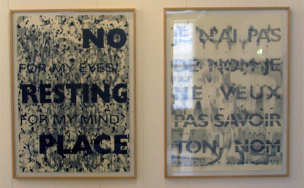 Simon Benson - No Resting Place & Je N'ai Pas de Nom