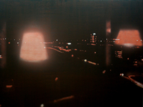 halluzination - 150x180cm Olieverf op linnen