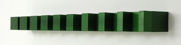 Donald Judd - Untiteld - Geschilderd staal