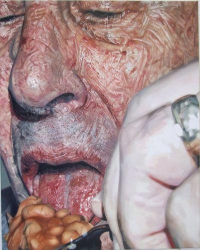 Tony - 70x60cm Olieverf op canvas