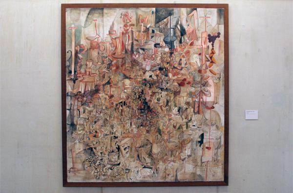 Expanding Canvas - Olieverf op doek