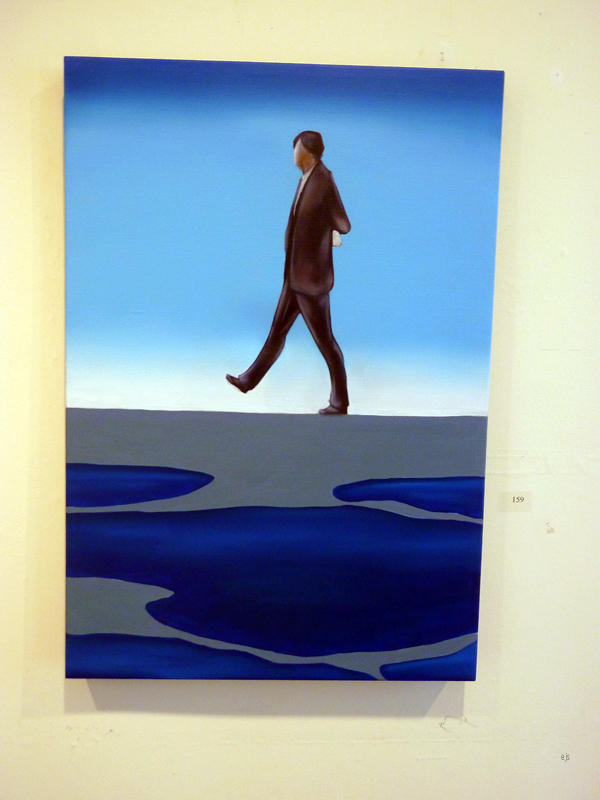 Janne Nytorp - Taking a Stroll 2 - Olieverf op canvas
