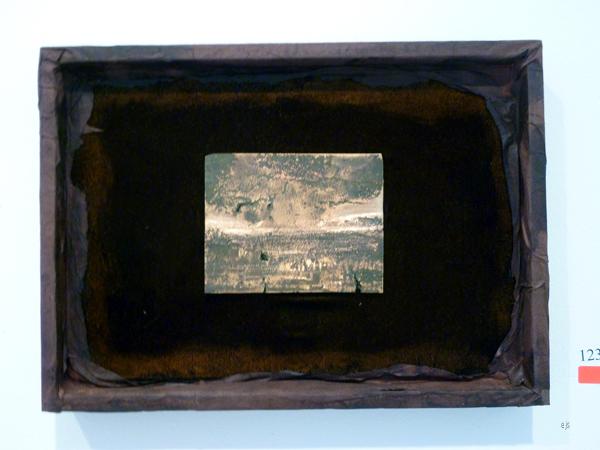 Johanna Haivaoja - Lake Scene - Brons, textiel papier