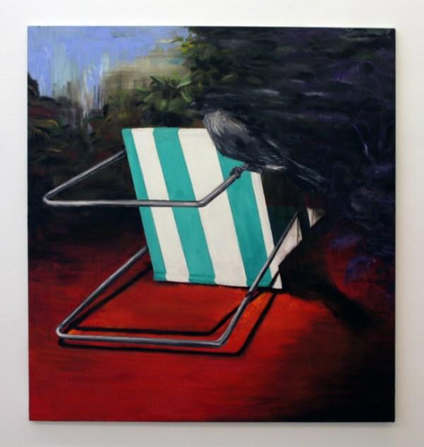 Line Gulsett - KajKaj - 150x140cm Olieverf op canvas