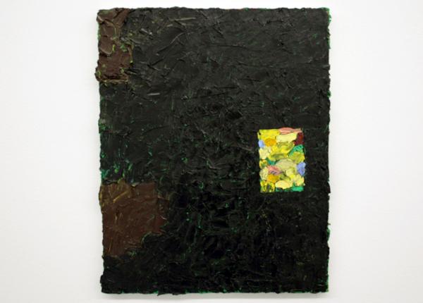 Norbert Prangenberg - Abstrakt - 50x40cm Olieverf op canvas