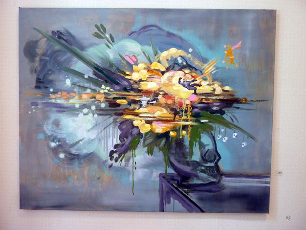 Sini Anttila Rodriquez - Superyellow - Olieverf op canvas